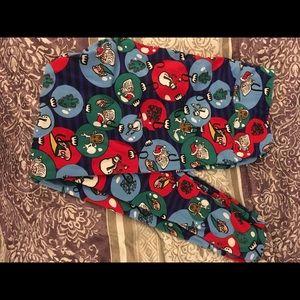 LuLaRoe Pants - Christmas Lularoe leggings